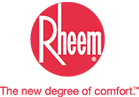 Rheem logo - high efficiency boiler systems