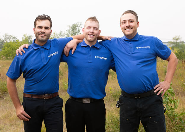 Hansen Plumbing team in Calgary