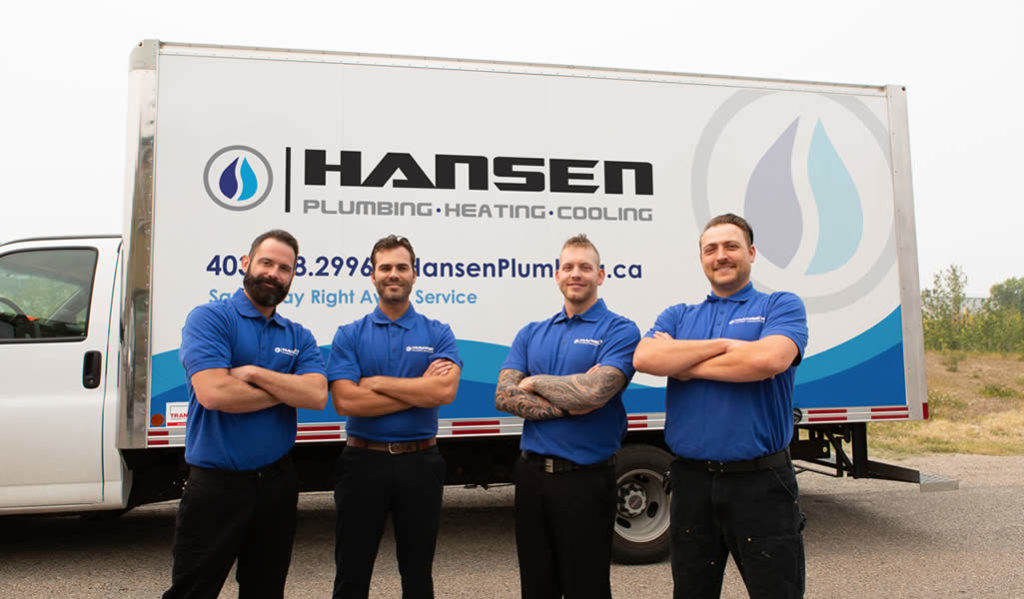 The Hansen Plumbing team - At Your Service!