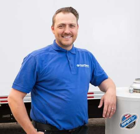 Ryan Hansen - owner of Hansen Plumbing, Heating & Cooling, Calgary
